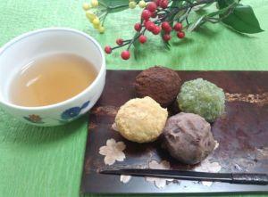 ぼたもち おはぎ 違い 和菓子