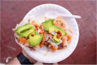 トスターダス デ セビチェはこんな料理│世界の激ウマB級グルメ【メキシコ】