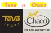 Teva chacoの違いを比較│どっちがオススメ?【サンダル】