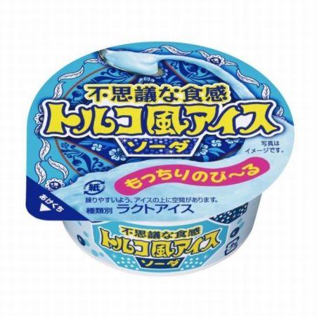 【ファミマ限定】トルコ風アイス ソーダのカロリーは?味の感想は?期間はいつまで?