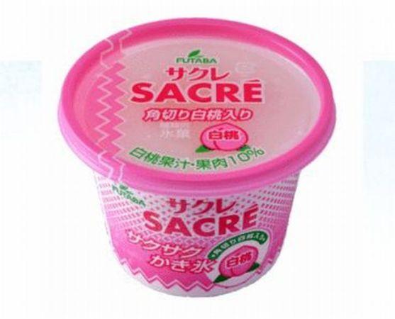 サクレ「白桃」はコンビニで買える!カロリーは?味の感想は?期間はいつまで?