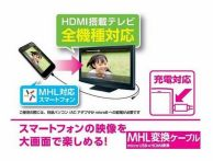 スマホ画面をテレビで見る視聴方法&接続ケーブルのオススメはコレ!【Android、iPhone】