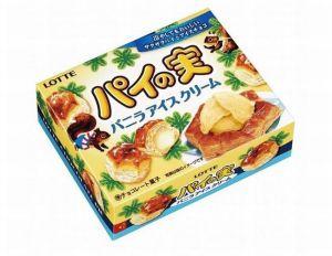 ロッテパイの実バニラアイスクリームカロリー味感想販売期間いつまでどこで買える