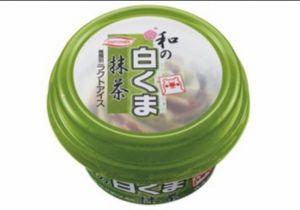和の白くま抹茶丸永製菓カロリー味感想期間いつまでコンビニ