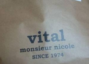 vital MONSIEUR NICOLE福袋2017