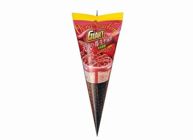ジャイアントコーン「大人の苺生チョコ」アイスのカロリーは?味の感想や期間は?
