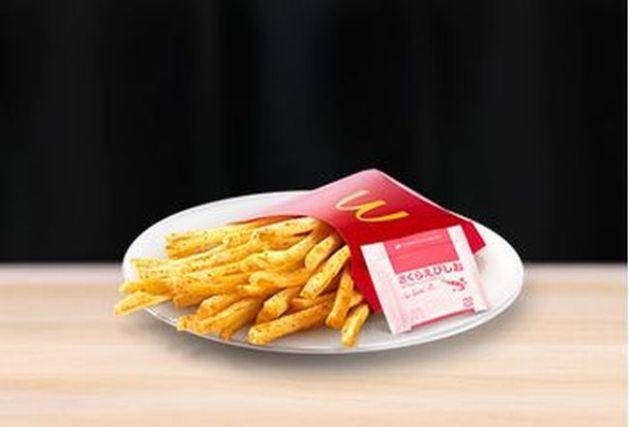 マック シャカシャカポテト「さくらえびしお」カロリーは?味の感想&口コミは?