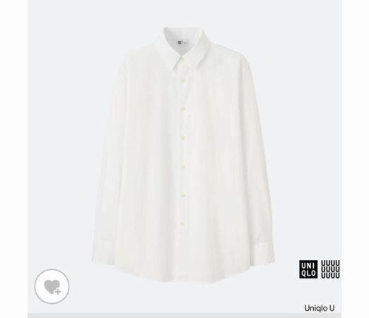ユニクロU メンズ白シャツ2017購入!サイズ感&個人的評価は?買うべき?