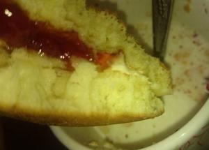 ホットケーキ 果肉入り苺ジャム&発酵バター入りマーガリン4