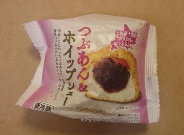 ヤマザキ「つぶあん&ホイップシュー」カロリーは?味の感想・おいしい食べ方は?