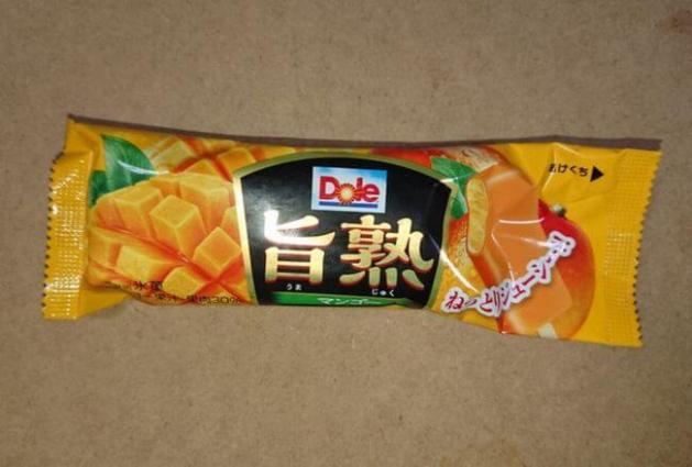 Dole「旨熟マンゴー」アイスのカロリー・味の感想は?チョコまでマンゴー