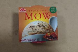 森永MOW「ソルティーバターキャラメル」カロリー・味の感想は?