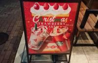 カフェインなし!クリスマスストロベリーケーキフラペチーノのカロリー・値段は?カスタムならこれ!