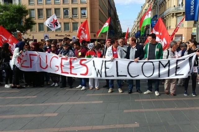 Et revoilà les gaucho-humanitaristes dans la rue…