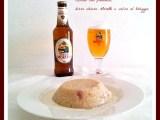 Risotto pancetta, birra chiara e salsa al taleggio