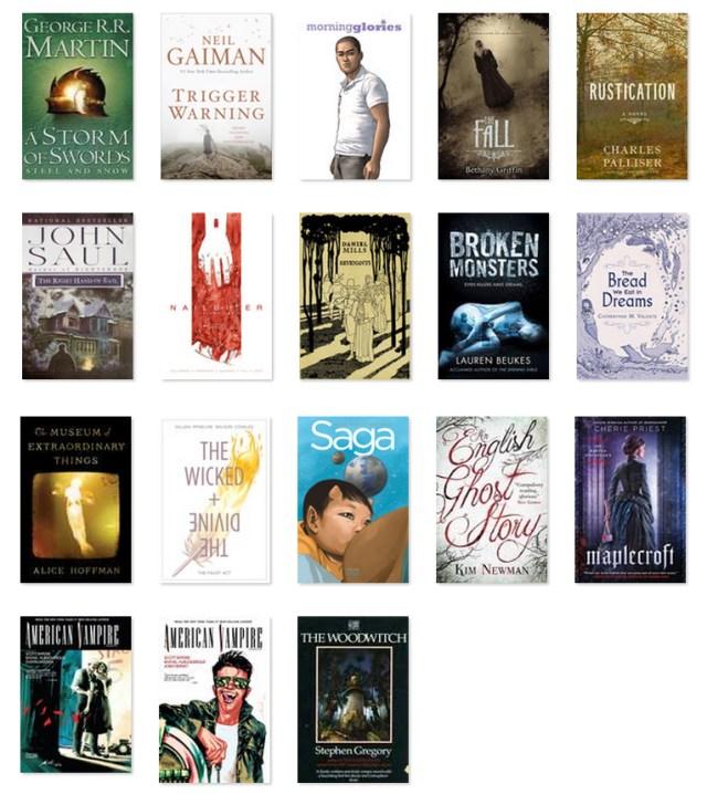 2015 books halfway