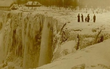 has niagara falls ever frozen