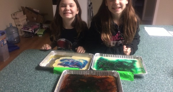 Making Sugar Stained Glass and Science Activity
