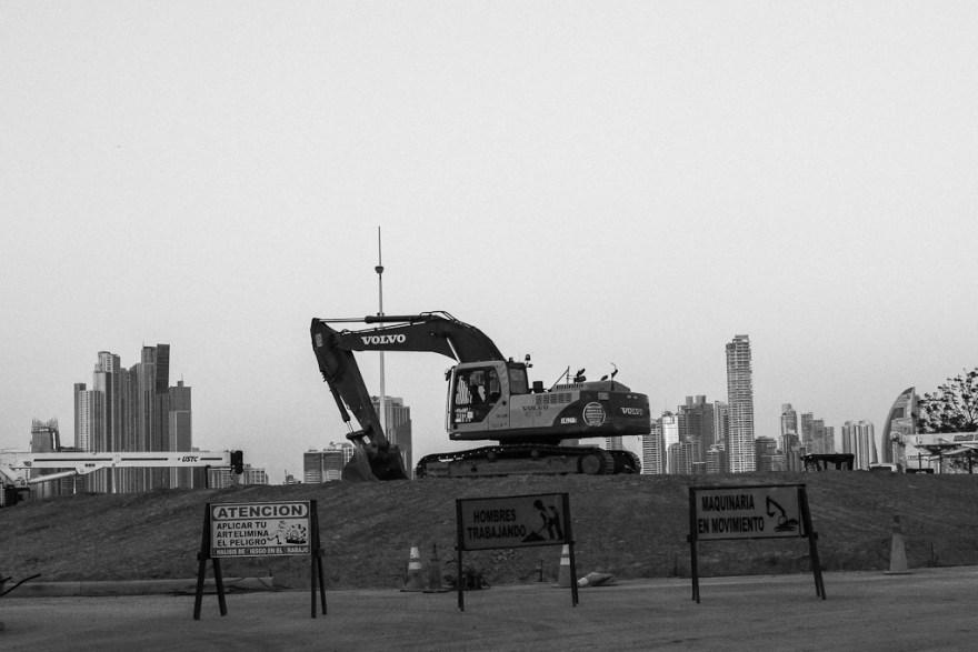 Eine Stadt, eine Baustelle - Panama City, Panama 2014 (c) Veronika C. Dräxler