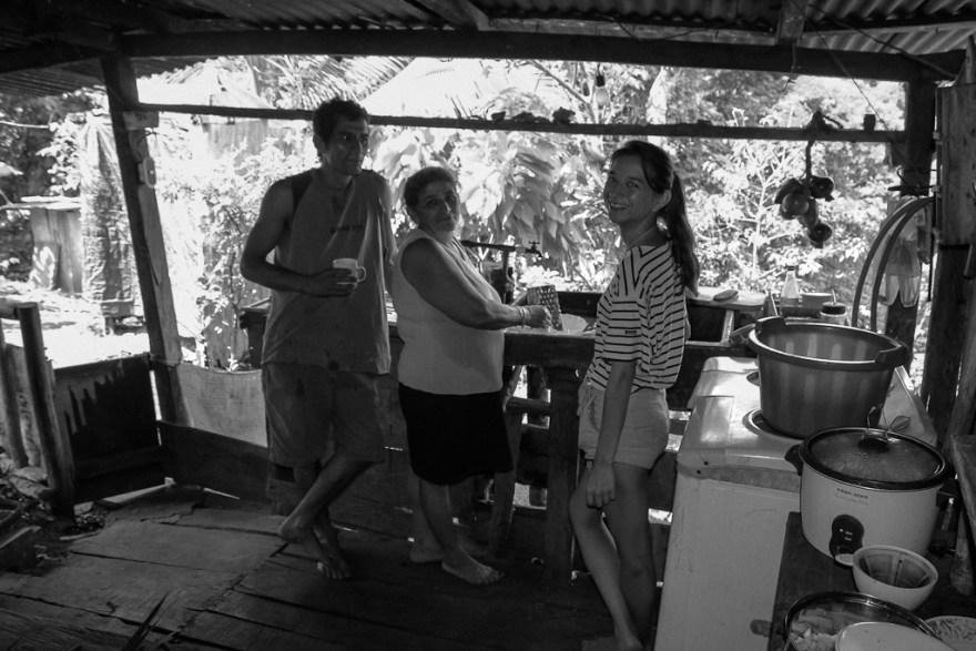In der Familienküche mit Roberto und Rosa, Costa Rica (c) Christoph Pankowski