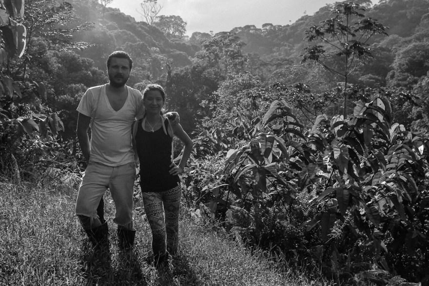 Wir im Dschungel, Costa Rica (c) Veronika C. Dräxler