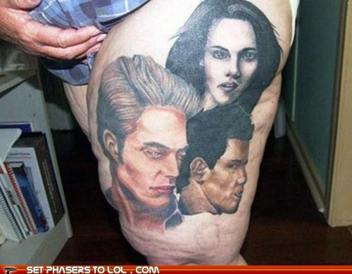 An exclusive first look at Mark Stevens' new tattoo