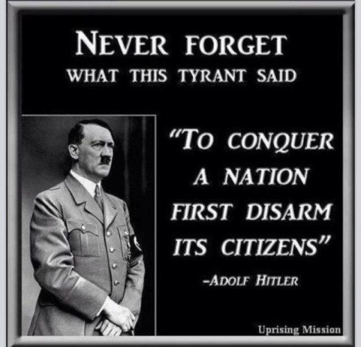 What Hitler really said... the same thing the Founders said...