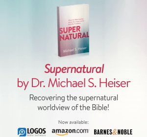 "in the mail from @LexhamPress, ""Supernatural: What the Bible teaches about the unseen world and why it matters"""