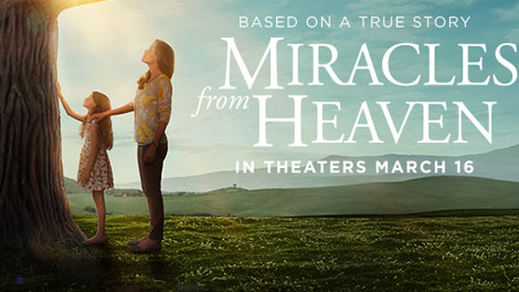 """Review, """"Miracles from Heaven"""" (film)"""