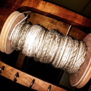 New yarn on a new bobbin
