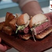 Chef Carl Heinrich's Station Burger with Pommes Kennedy
