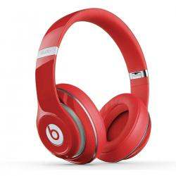Beats by Dr. Dre Studio Over-Ear Headphones (Red) – Refurbished