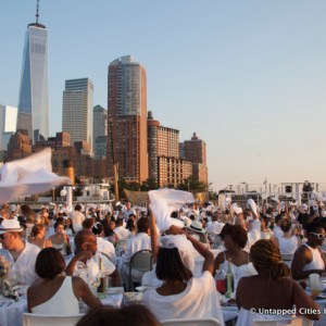 2015 NYC Dîner en Blanc Takes Over Pier 26 at Hudson River Park [Photos]