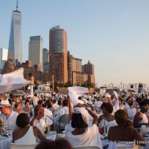2015 NYC Dîner en Blanc Takes Over Pier 26 at Hudson River Park [Photos]