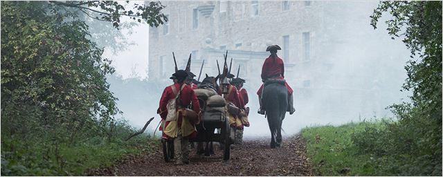 L'armée britannique © Starz
