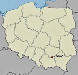 zalipie_poland_map
