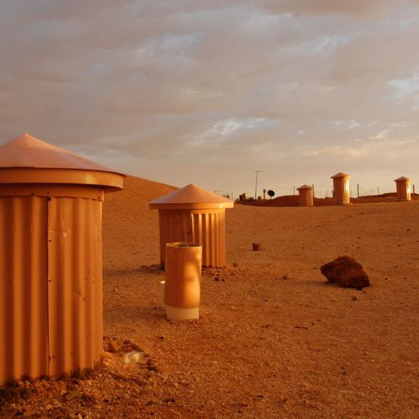 Coober Pedy's Chimneys Image credit: Nicholas James/Flickr