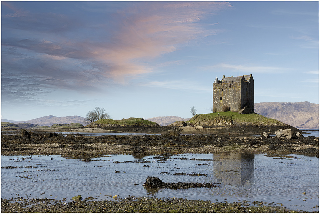 Castle Stalker: An Isolated Scottish Land Of History