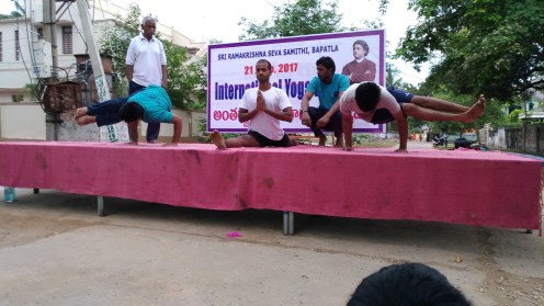 Yoga Day at Samithi