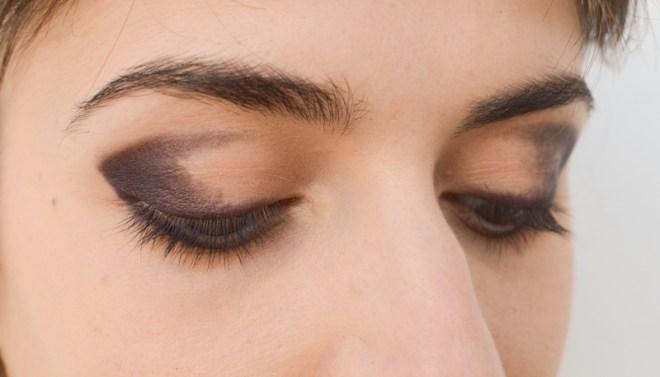 Rainbow eye makeup tutorial - step 2