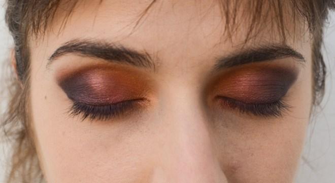 Rainbow eye makeup tutorial - step 6