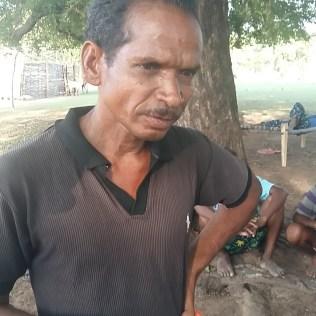Father of Manjam Shanti at Palamagdu