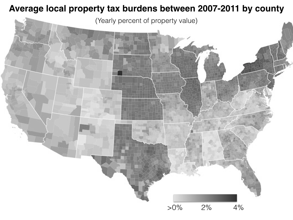 Riveting America 2018 Cheapest Land America Per Acre United S Cheapest Land Average County Property Taxes houzz-03 Cheapest Land In America
