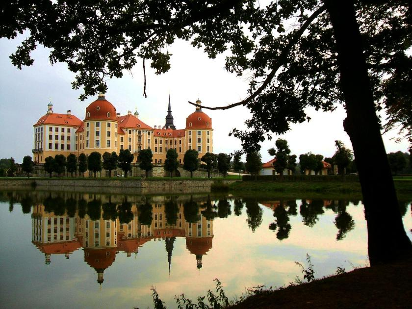 Schloss Moritzburg (Uferblick)