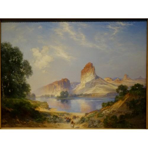 Medium Crop Of Green River Canvas