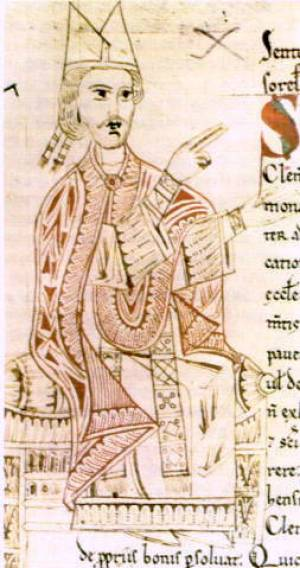 English: Pope Gregory VII
