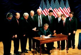 Signing of the Partial-Birth Abortion Ban on November 5, 2003