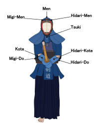 file kendo target areas