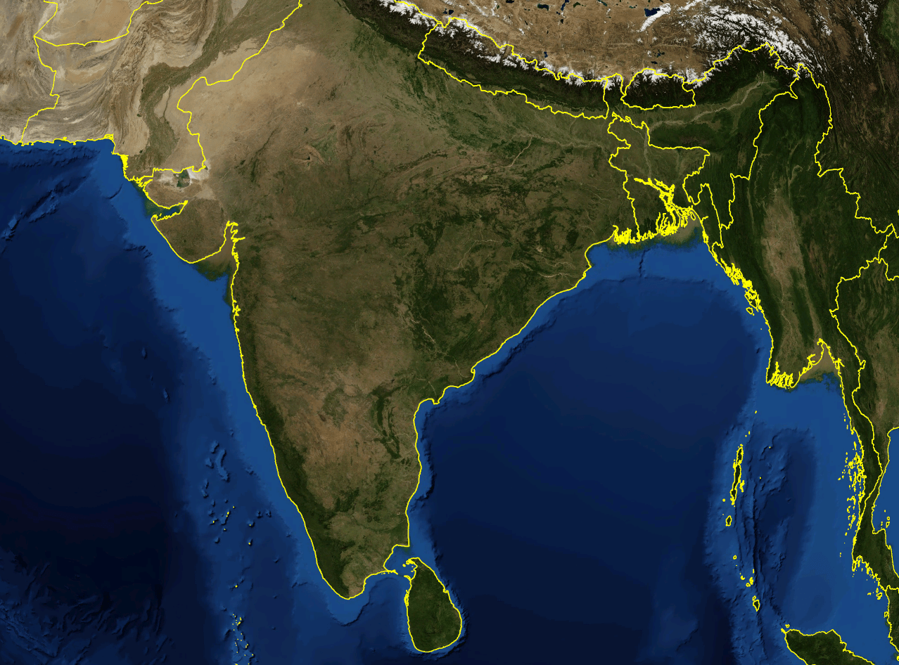 File India satellite image png   Wikipedia File India satellite image png