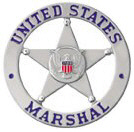 United States Marshal's star badge
